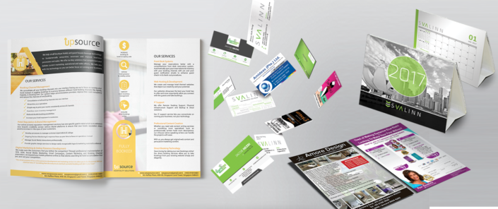 flyers brochures business collaterals design graphic design and digital marketing agency